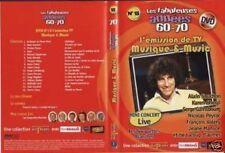 "DVD NEUF ""MUSIQUE & MUSIC"" KAREN CHERYL, GAINSBOURG ..."