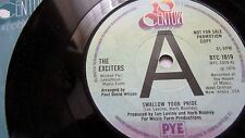 THE EXCITERS SWALLOW YOUR PRIDE & PRIDE COMES BEFORE A FALL 20TH CENTURY PROMO
