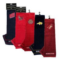 NEW Team Golf Premium Team Golf Towel For Golf Bag - Choose Favorite Team