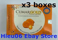 3 boxes CumarGOLD - NANO CURCUMIN - Anti Inflammatory & Pain Reliever 90 caps