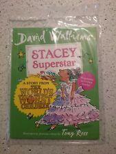 McDonalds Happy Meal Toy - David Walliams - Stacey Superstar BNIP