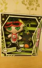 MONSTER HIGH FRIENDS  DEUCE GORDON AND PERSEUS PLUSH SOFT DOLL NEW VHTF