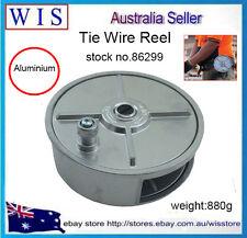 Lightweight Alum.Tie Wire Reel,Metal Belt Reeler,Handy Reel Tie Wire Dispenser