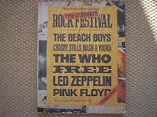 the who pink floyd led zeppelin free beach boys rock 1975 SPARTITO SHEET MUSIC