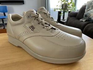 SAS Time Out Men's Tripad Comfort Leather Walking Shoe Tan 14WW New Without Box