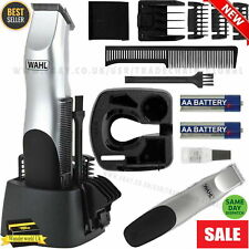 Wahl Battery Cordless Hair Beard Clippers Trimmer Clipper Mens Battery Powered