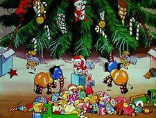 RARE 16mm Cartoon: THE NIGHT BEFORE CHRISTMAS (I B TECHNICOLOR) 1933 WALT DISNEY