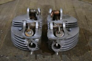 Matchless/AJS G9 Cylinder Head Pair, Used
