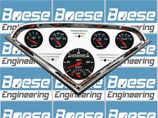55 56 57 58 59 Chevy Truck Billet Aluminum Gauge Panel Dash Insert Instrument