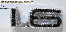 Auto KFZ Schriftzug Typbezeichnung >Unikat by Amor* HOT >Black G.>Crystal Strass