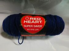 RED HEART SUPER SAVER SOFT NAVY YARN/7 OUNCE