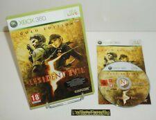 ++ jeu xbox 360 resident evil 5 gold edition ++