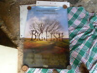 THE BIG FISH  SHEET MOVIE POSTER AUST