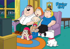 Family Guy Glossy A4 260GSM Poster Print