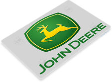 TIN SIGN John Deere Tractor Auto Shop Farm Tools Equipment Store Garage B088