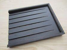DARK ASH solid wood draining board for belfast/butler sink worktop drainer