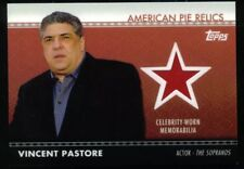 AMERICAN PIE (Topps/2011) RELICS CARD #APR-33 VINCENT PASTORE The Sopranos