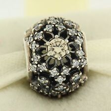 Authentic Pandora 791370CCZ Inner Radiance Champagne Sterling Silver Bead Charm