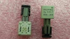 1x HP HFBR-2414 , HFBR2414 , FIBER OPTIC RECEIVER, 35Mbps Low Cost ,  T.H. ,New