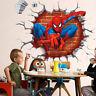 Niños De Niño Decoración Dormitorio 3d Spiderman Pegatina Para Pared