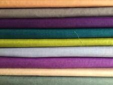 Makower Linen Texture Many Colours 100% Cotton Fat Quarters & More Craft Quilts