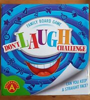 Dont Laugh Challenge Family Board Game 100% Complete