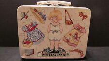 Mary Engelbreit Collector Toy Lunch Box Pail Ann Estelle Paperdoll Design 7x5x3