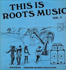 """"""" THIS IS ROOTS MUSIC volume II. """" various artists. VIRGO STOMACH UK orig  L.P."""