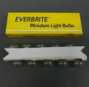 67 12v4cp Lights Bulbs Everbrite Pack of 10