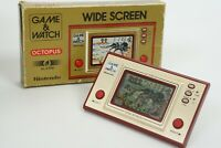 LCD OCTOPUS Game Watch OC-22 Boxed Wide Screen Tested Nintendo JAPAN Ref 1714