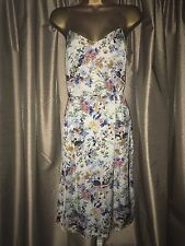 Zara Printed Sarong Dress with Straps Size XS
