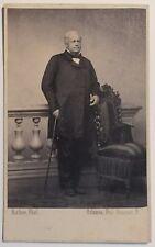 Monsieur Rivet par Richou Photographe à Orléans Cdv Vintage Albumine c1865