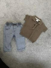 Mamas And Papas Baby Boy Outfit Size 0-3 Months