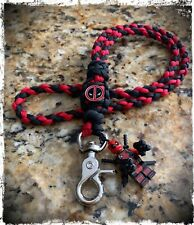 Deadpool Paracord Lanyard.