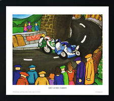 Joey Dunlop/Dhu Varren/Motorbiking/Irish Art Group/Print/Martin Laverty/Ireland