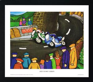 Joey Dunlop/Dhu Varren/Motorbiking/Irish Art Group/Print/Martin Laverty/Ireland