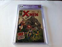 X-MEN 34 CGC 7.0 MOLE MAN TYRRANUS ROBOT COVER DAN ADKINS MARVEL COMICS