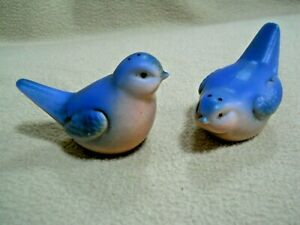 Vintage Blue Bird Salt & Pepper Shakers H853