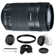Canon EF-S 55-250mm F4-5.6 IS STM Lens w/ Kit for Canon EOS 70D , 77D & 80D
