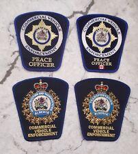 Alberta Commercial Vehicle Enforcement Patch Lot