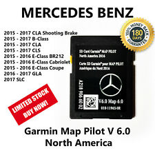 Mercedes-Benz CLA CLS GLA SLC B E-Class 2017 Navigation SD Card GARMIN Map Pilot