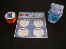 YO-YO,STICKERS AND FIGURINE FROM THE MOVIE HOME.