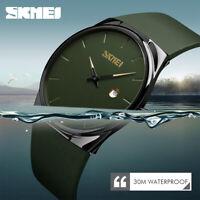 SKMEI Men Sport Watch 30m Waterproof Minimalist Casual Quartz Wristwatch 1509 A