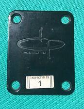 2005 Olp MM2 by Ernie Ball Bass Guitar Original Olp Logo Black Neck Plate