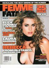 WoW! Femme Fatales V12#2 / Women of Angel! Rebecca Romijn-Stamos! 25 Toughies!