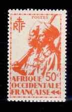 1945 Afrique Occidentale Françaises -  Y & T N° 7 Neuf ** SANS CHARNIERE