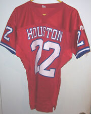 HOUSTON COUGARS #22 1996 Game Used/Worn Red JERSEY (Size S-M)