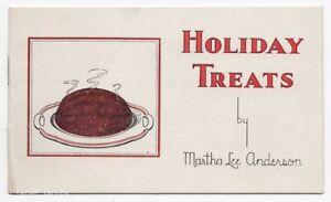 Arm & Hammer Cow Brand Christmas Recipe Book HOLIDAY TREATS Church & Dwight