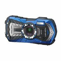 RICOH waterproof digital camera RICOH WG-40W Blue Waterproof 14 m Shock