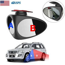 Blind Spot Right Mirror Adjustable 360° Wide Angle Convex Mirror For Car Truck